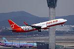 HL8263 - Jeju Air - Boeing 737-82R(WL) - Lee MinHo Livery - ICN (18490105675).jpg
