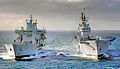 HMS Ark Royal RAS with RFA Wave Knight MOD 45151262.jpg