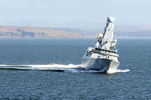 Her Majesty's Naval Service - Image: HMS Diamond MOD 45155341