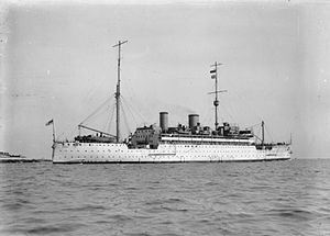 HMS Medway (1928) - Image: HMS Medway IWM Q 65758