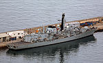 HMS Montrose (F236) at the South Mole, HM Naval Base, Gibraltar.jpg