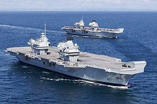 <i>Queen Elizabeth</i>-class aircraft carrier Royal Navy aircraft carrier class