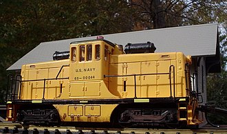 Kitbashing - A center cab switcher made by Bachmann has parts added to look more realistic.