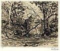HUA-202712-Gezicht op de hermitage annex kapel een folly in het park van kasteel Drakenstein te Lage Vuursche gemeente Baarn NB Dit bouwwerk is in 1956 gesloopt.jpg