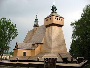 Polish Uplanders - Image: Haczow kosciol