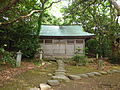 Haiden of Ominato Shrine of Oshima.JPG