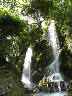 Saut-d'Eau Waterfall