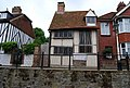 Half timbered house being restored, High St, Hastings Old Town - geograph.org.uk - 1352511.jpg