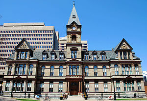 Halifax City Hall - Halifax City Hall, as seen from Grand Parade.