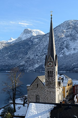 Lutheran Parish Church of Hallstatt, Upper Austria