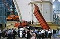 Hammond Slides VDNKH, MAZ truck display in front of present-day Cosmos Pavilion.jpg