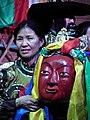 Hamtdaa Mongolian Arts Culture Masks - 0158 (5568183553).jpg