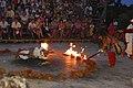 Hanuman on fire Kecak Dance Pura Luhur Uluwatu.jpg