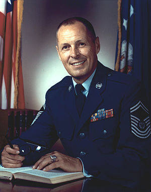 Chief Master Sergeant of the Air Force - Image: Harlow dl