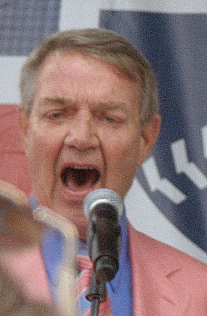 "Harry Kalas - Kalas, pictured before the 2007 playoffs, singing ""High Hopes"""