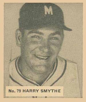 Harry Smythe - Image: Harry Smythe 1936Goudeycard