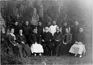 Charles Hartwell - Image: Hartwell with Foochow College faculty