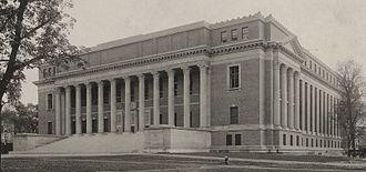 Eleanor Elkins Widener - Image: Harvard University Widener Library Exterior Front c 1915 cropped