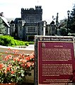 Hatley Castle and historic plaque. INFO IN PANORAMIO DESCRIPTION - panoramio.jpg