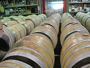 Hawke's Bay Region - Inside a Hawke's Bay winery