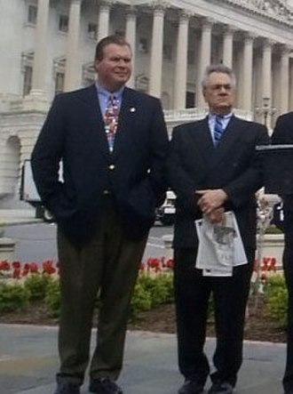 J. D. Hayworth - Hayworth and Barney Frank at a Capitol Hill press conference.