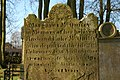 Headstone, St Patrick's church near Ballymena (1) - geograph.org.uk - 327647.jpg