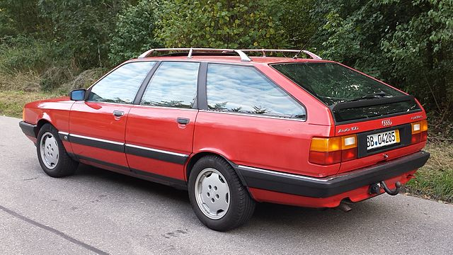 Heck Audi 100 Avant quattro Sport S711