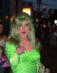 Hedda Lettuce in Provincetown in August 2006.