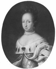 Hedvig Eleonora, 1636-1715, prinsessa av Holstein-Gottorp, drottning av Sverige