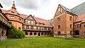 Heiligengrabe, Kloster Stift zum Heiligengrabe, Abtei, Innenhof -- 2017 -- 7348.jpg