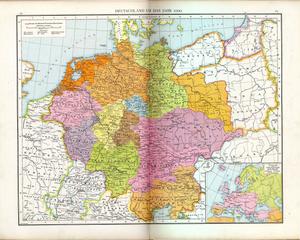 Eifelgau - The mediaeval gaus c. 1000 AD
