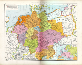 <i>Gau</i> (territory) German term for a region within a country