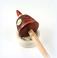 Heirloom Mini Support Spindle with Ceramic Spinning Bowl (8471221795).jpg