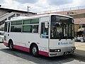 Heisei Enterprise Bus at Minami-Sakurai Station 01.jpg