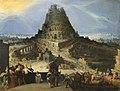 Hendrick van Cleef, La tour de Babel.jpeg