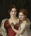Henri-François Riesener (1767–1828)- Portrait of a Mother with her Daughter - Muotokuva äidistä tyttärensä kanssa - Porträtt av en mor med sin dotter (29433007336).jpg