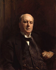 Painting of a middle-aged Henry James