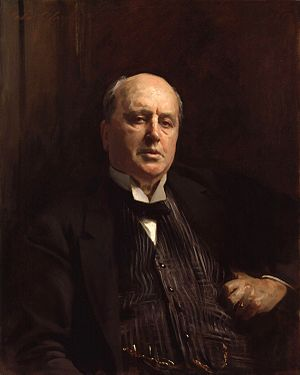 Henry James, by John Singer Sargent (died 1925...