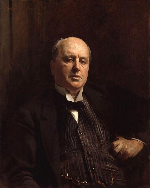 Henry James by John Singer Sargent cleaned