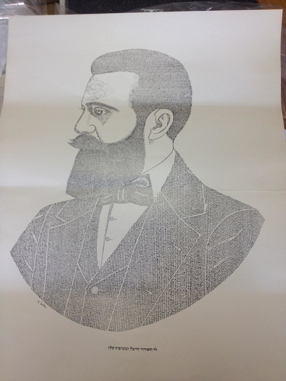 Herzl Micrography