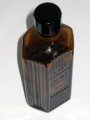 Glass bottle - Pharmaceutical bottle