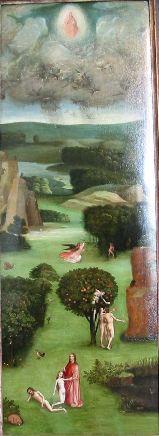 Hieronymus Bosch Weltuntergang links low