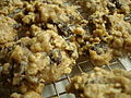 High Fiber Oatmeal Raisin Chocolate Chip Cookies on wire rack.jpg