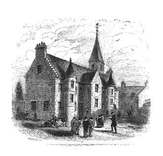 Royal High School, Edinburgh - Image: High School, Blackfriars 1578