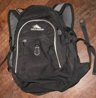 Samsonite - Image: High Sierra backpack