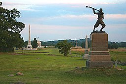 High Water Mark - Cemetery Ridge, Gettysburg Battlefield.jpg