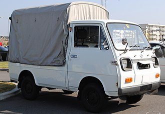 Daihatsu Hijet - Daihatsu Hijet cabover truck (1968)