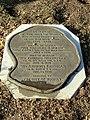 Hiker plaque - Woburn, MA - DSC02750.JPG