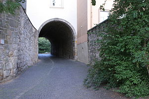 Pincer gate - Northwestern pincer gate of the Hildesheim Cathedral Castle