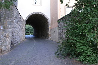 Pincer gate - Northwestern pincer gate of the Hildesheim Cathedral Castle